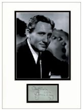 Spencer Tracy Autograph Signed Display